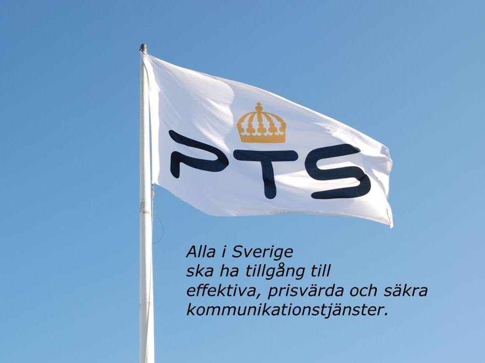 Mer och bättre bredband i Sverige Catarina Wretman Stf GD