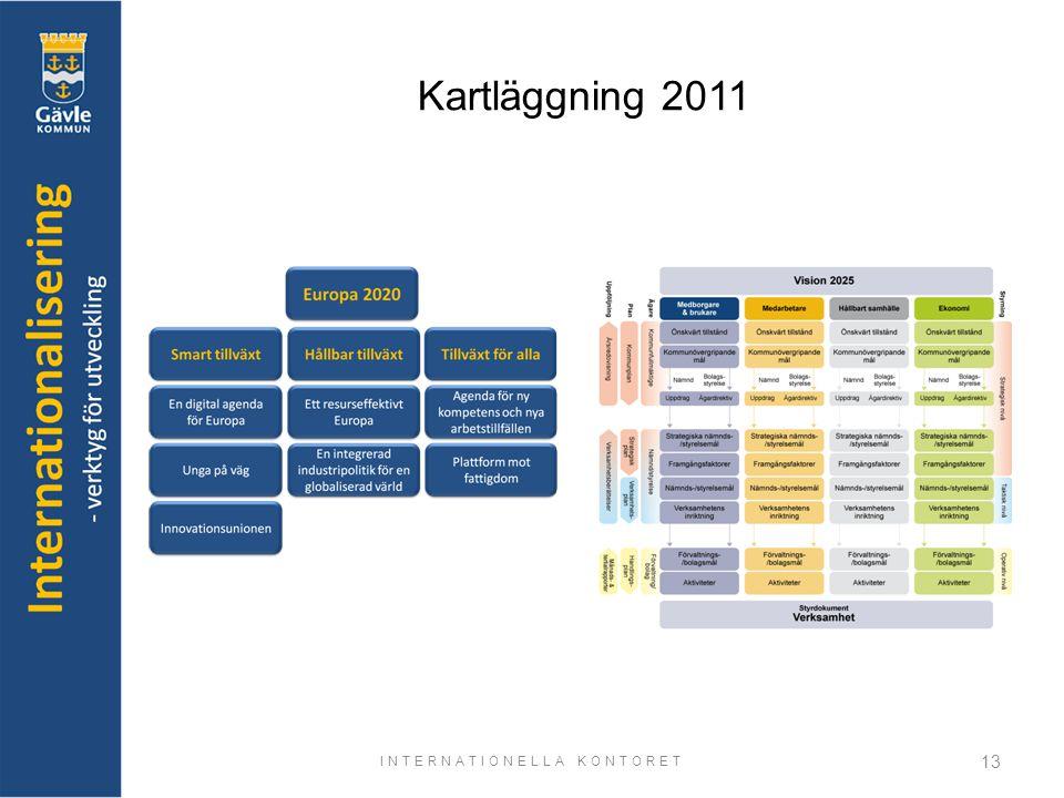 INTERNATIONELLA KONTORET 13 Kartläggning 2011