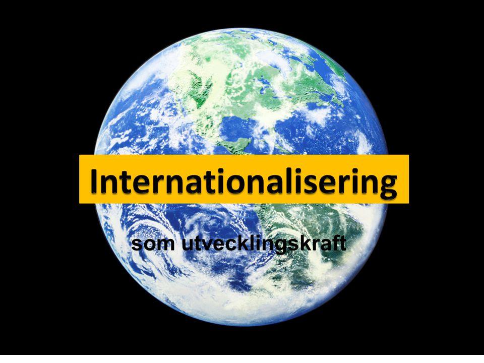 Internationalisering: varför?