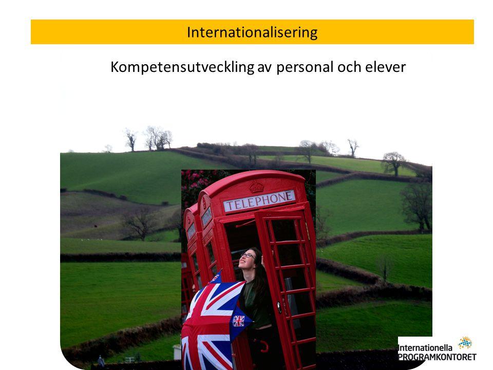 En, två eller tre veckor från yrkes- och studieförberedande program Internationalisering