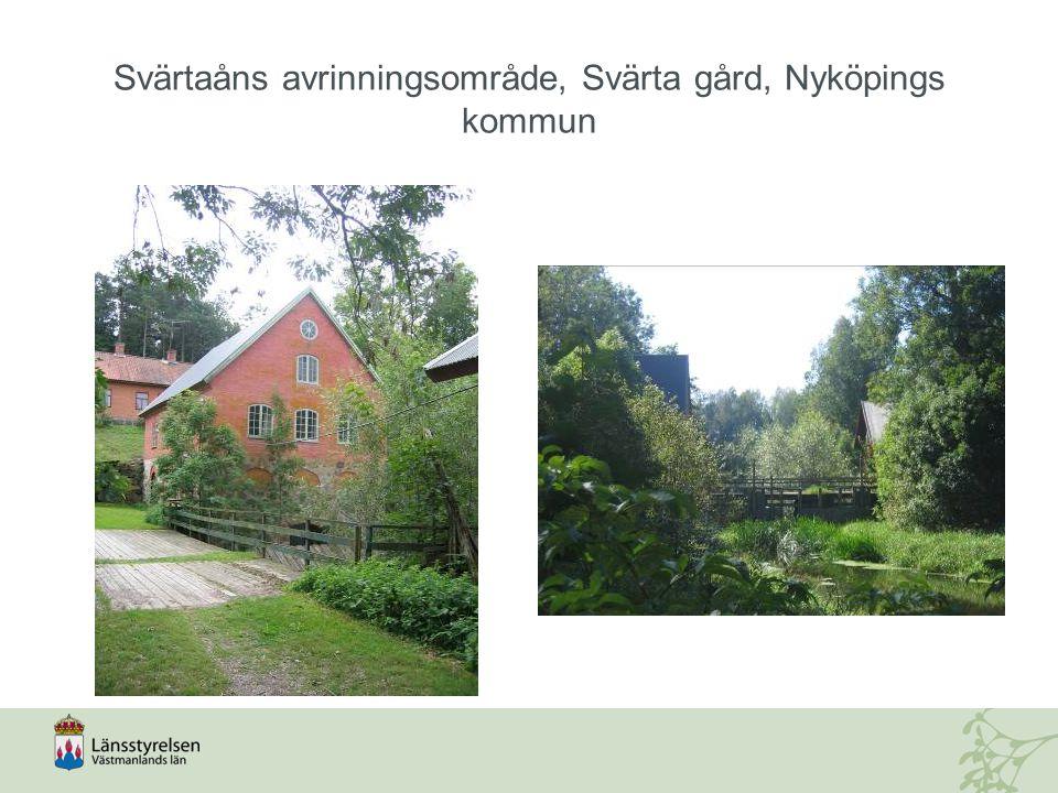 Svärtaåns avrinningsområde, Svärta gård, Nyköpings kommun