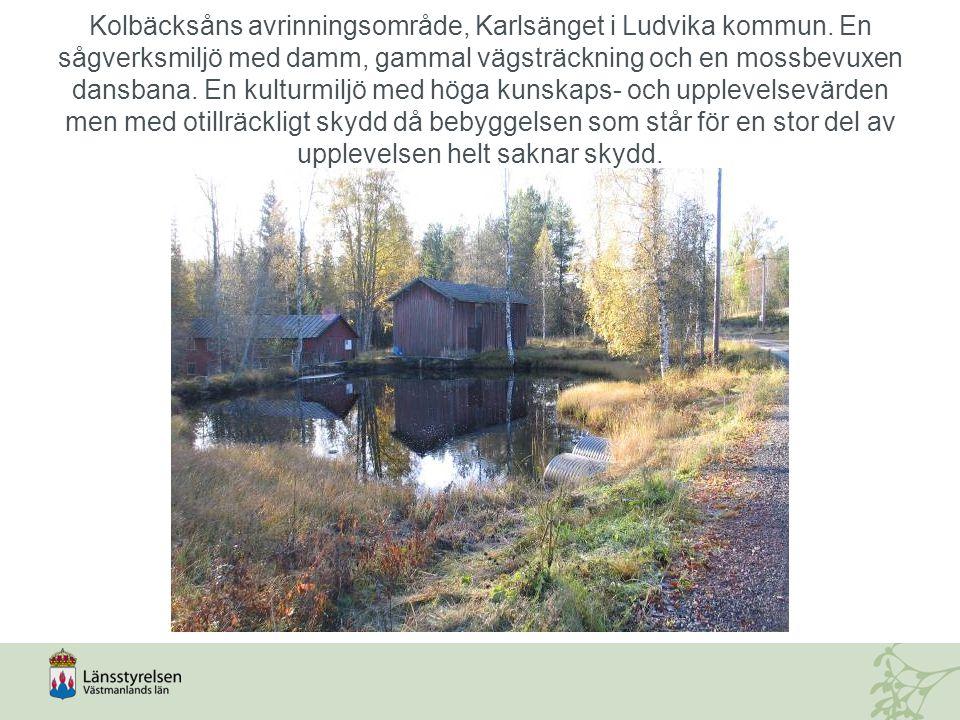 Kolbäcksåns avrinningsområde, Karlsänget i Ludvika kommun.