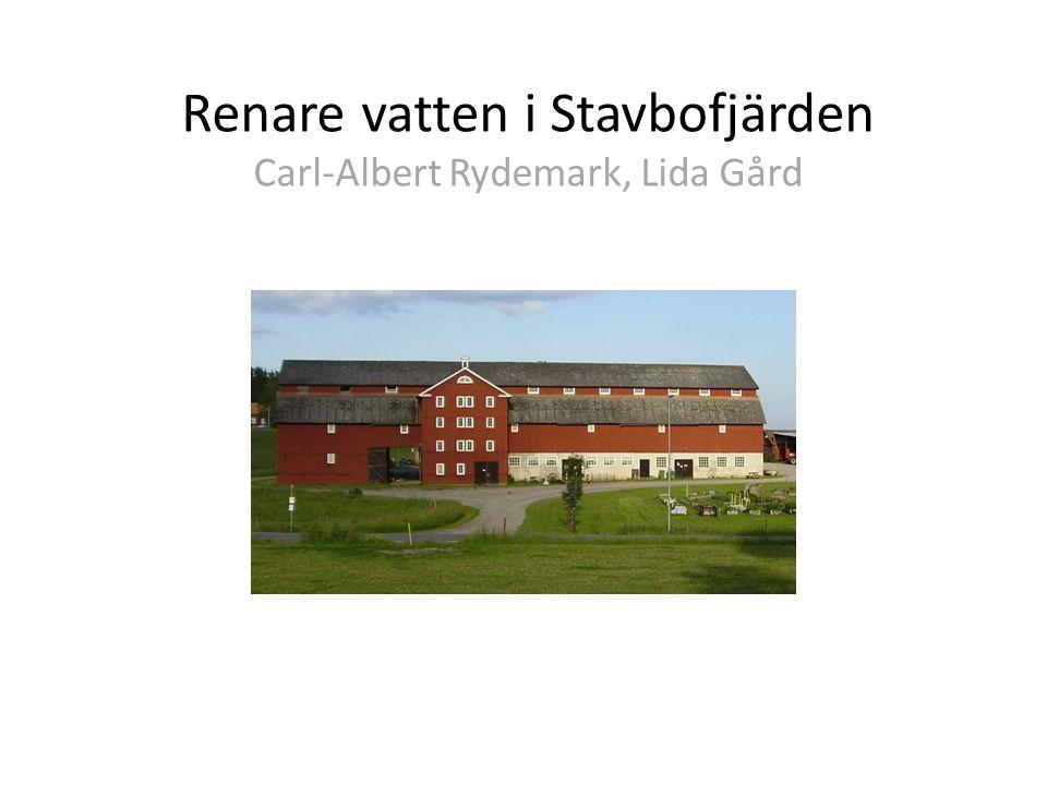 Stavbofjärden 88 km 2 totalarea 2900 ha åkermark
