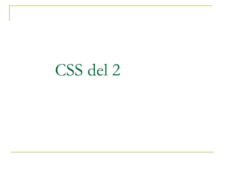 CSS del 2