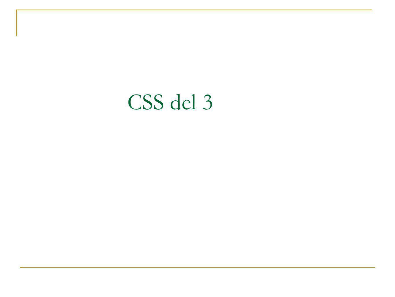CSS del 3