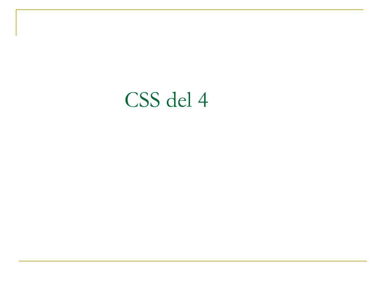 CSS del 4