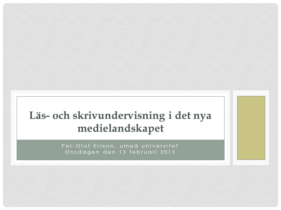 Tankens trädgård Tvåtusen tonårstankar(2000) Närhetskultur och intimitet upplösning mellan det privata och offentliga (Habermas) Ziehe: skolans förtingligande och skolans psykologisering Drömmen om den rena kommunikationen (2004)