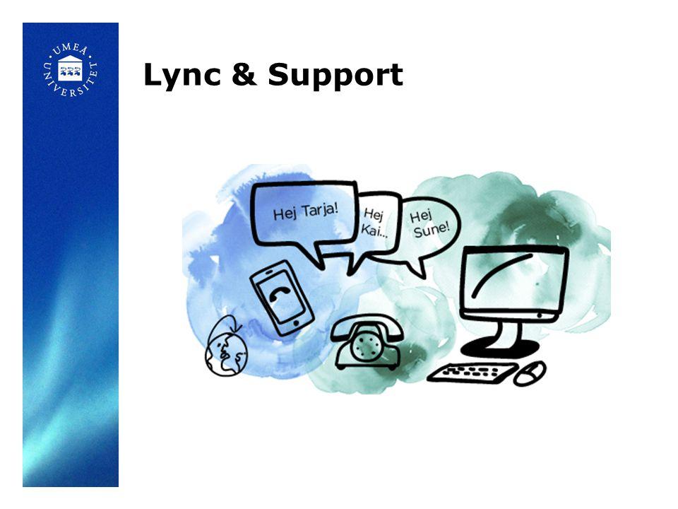 Statistik Anställda 4330 Institutioner/enheter 47 Apple - datorer (28%), mobiler (58%) Lync 15% av ITS ärenden