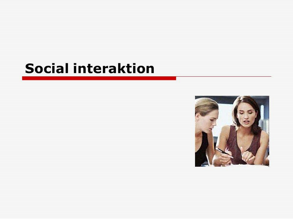 Social interaktion