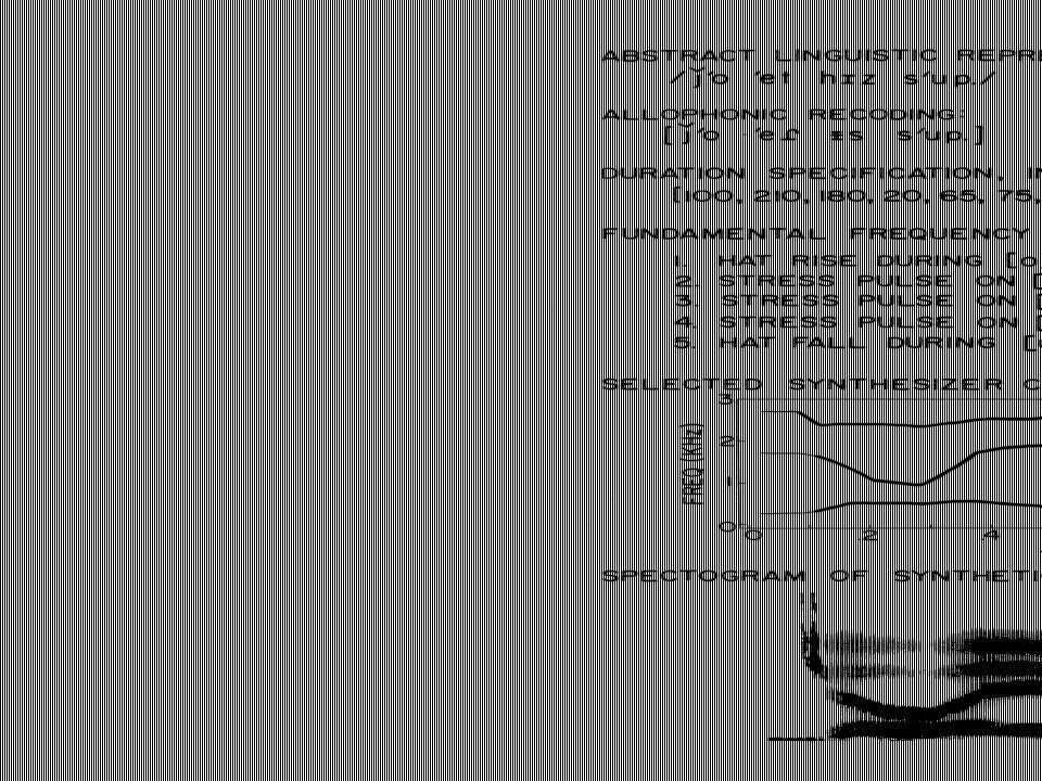 Flera talsyntessystem DECtalk (1980-) * –Baserad på KlattTalk (formantsyntes) –Formanter, lokusregler –Flera olika röster (Klatt, arkiv D) Speak and Spell (1980) –Linjär prediktion