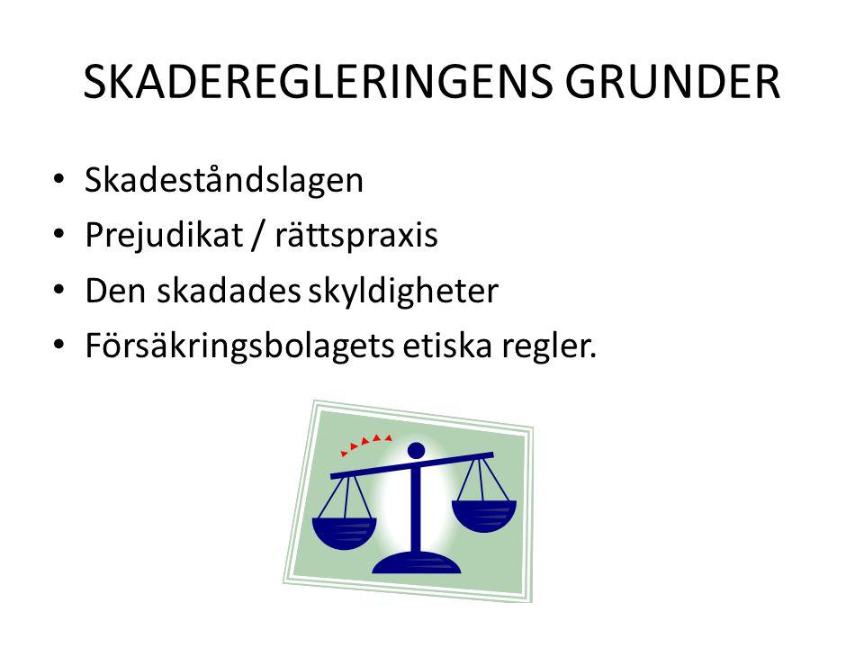SKADESTÅNDSLAGEN 5 kap.