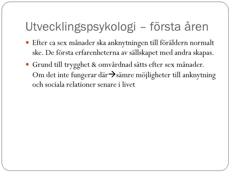 Utvecklingspsykologi – Åldrar 5-8 5.