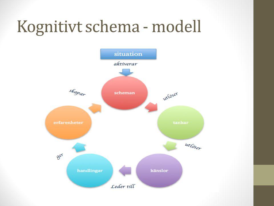 Kognitivt schema - modell