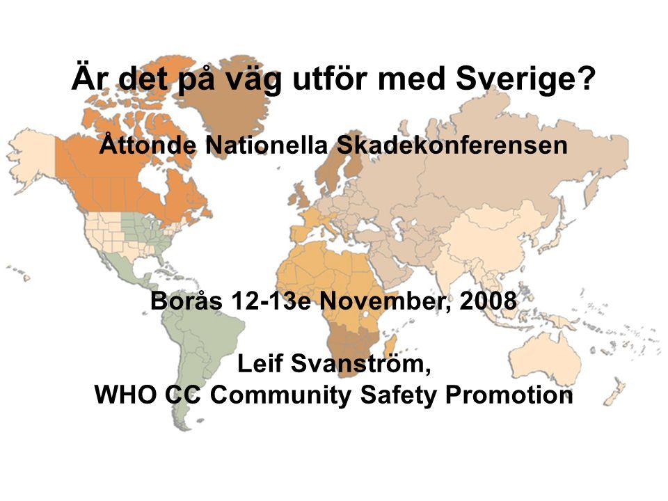 Är det på väg utför med Sverige.