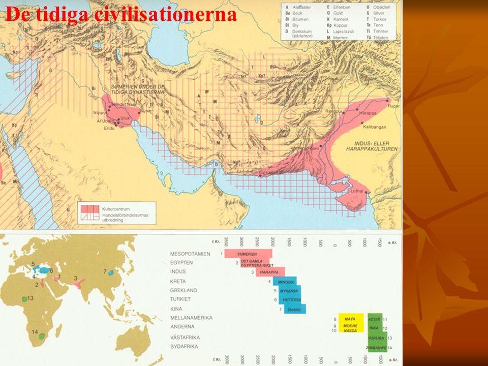De tidiga civilisationerna