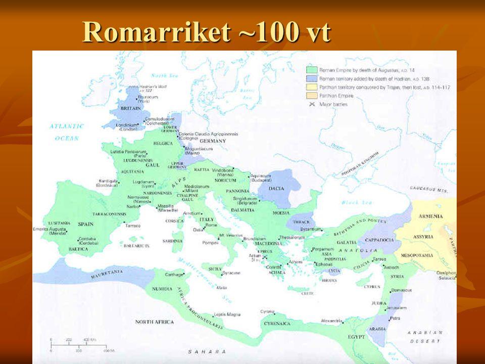 Romarriket ~100 vt