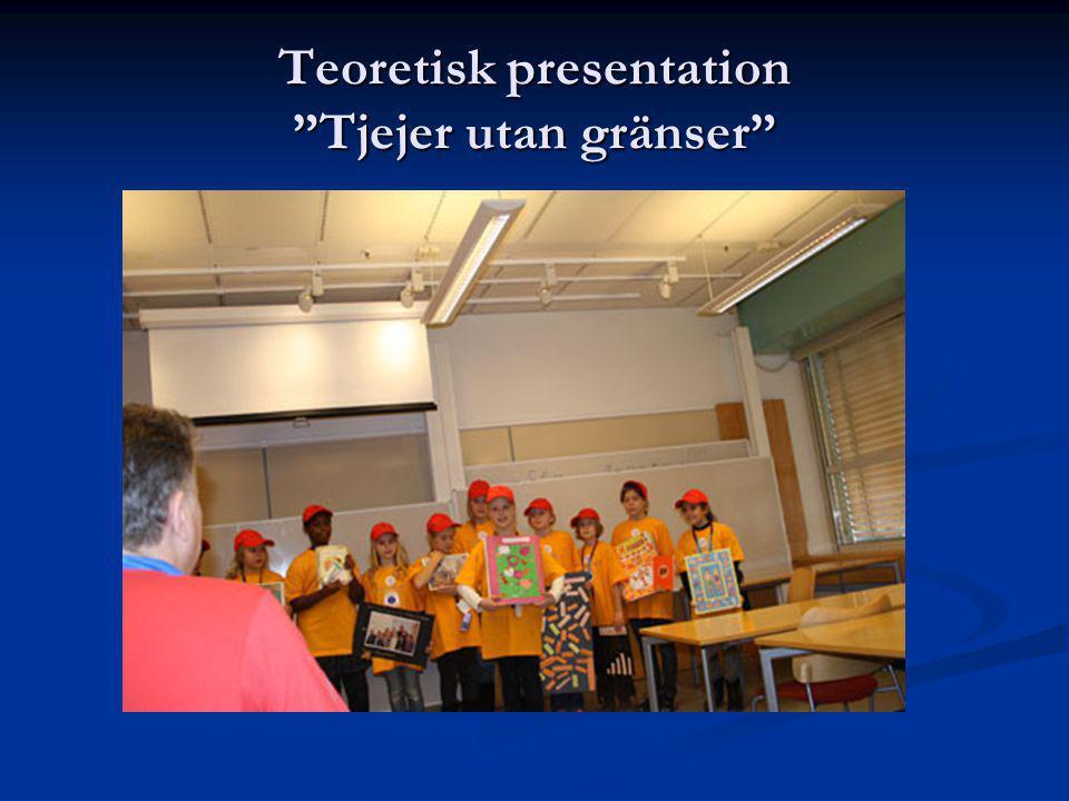 Teoretisk presentation Tjejer utan gränser