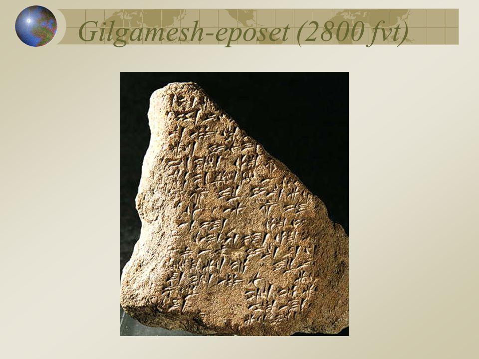 Gilgamesh-eposet (2800 fvt)