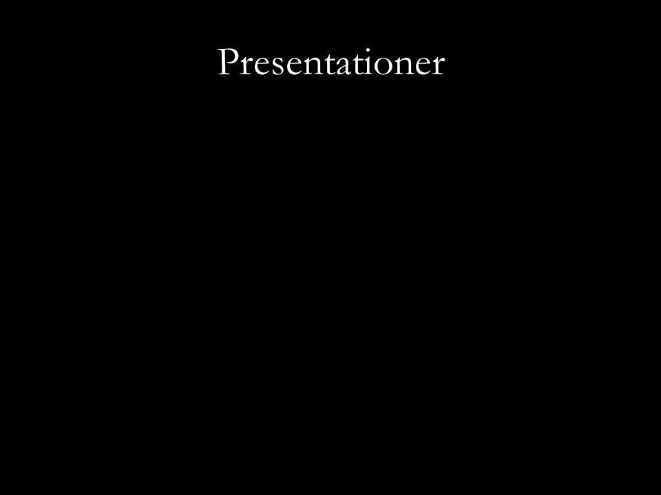 Presentationer