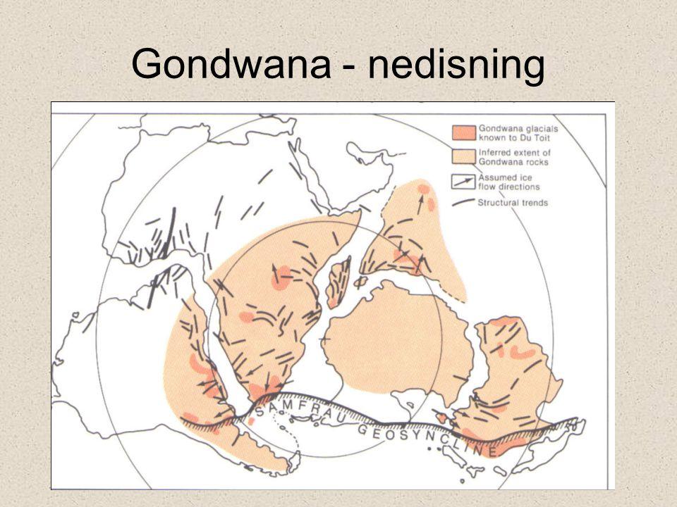 Gondwana - nedisning
