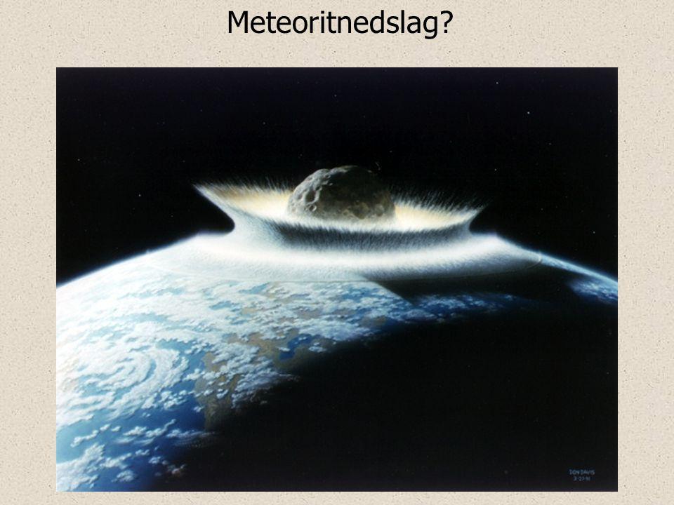 Meteoritnedslag?