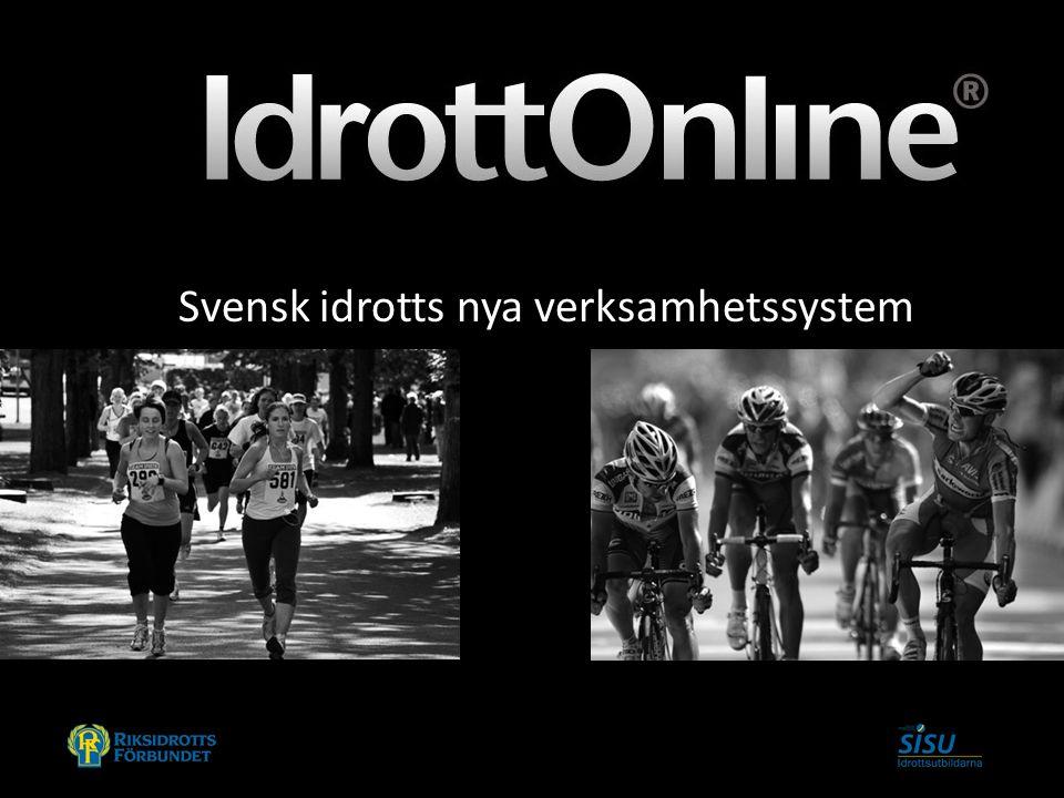Svensk idrotts nya verksamhetssystem