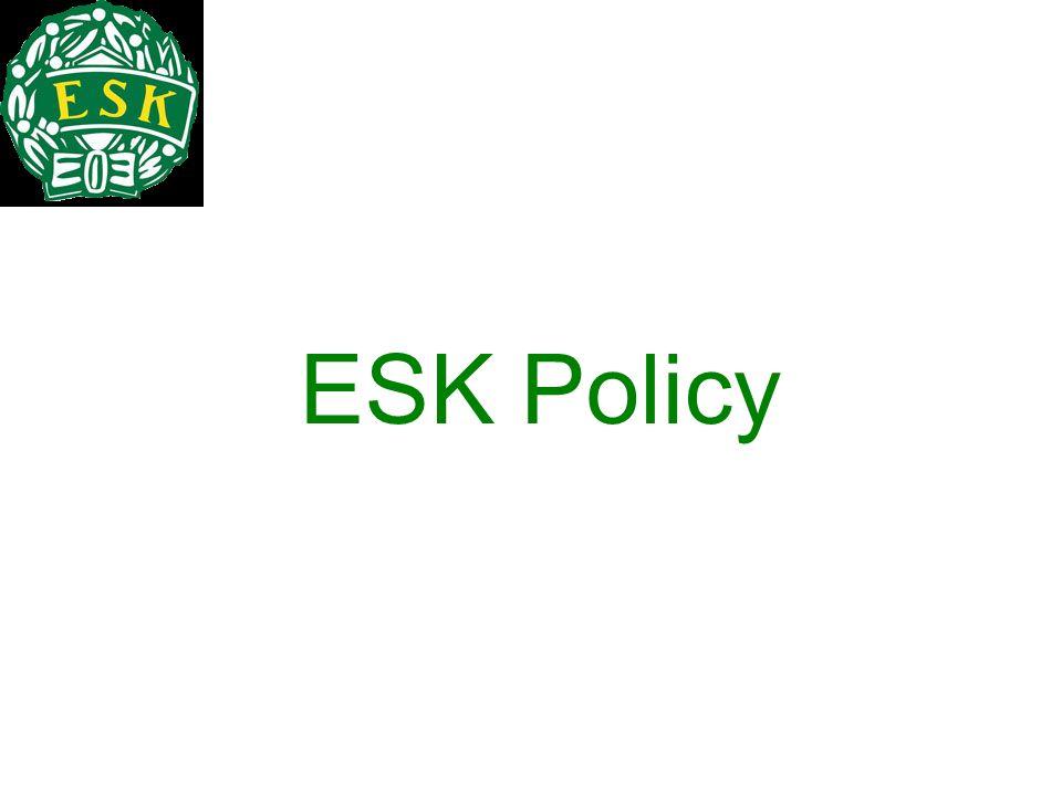 ESK Policy