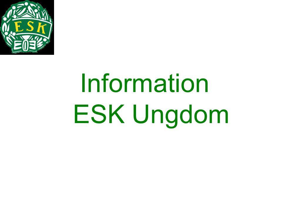 Information ESK Ungdom