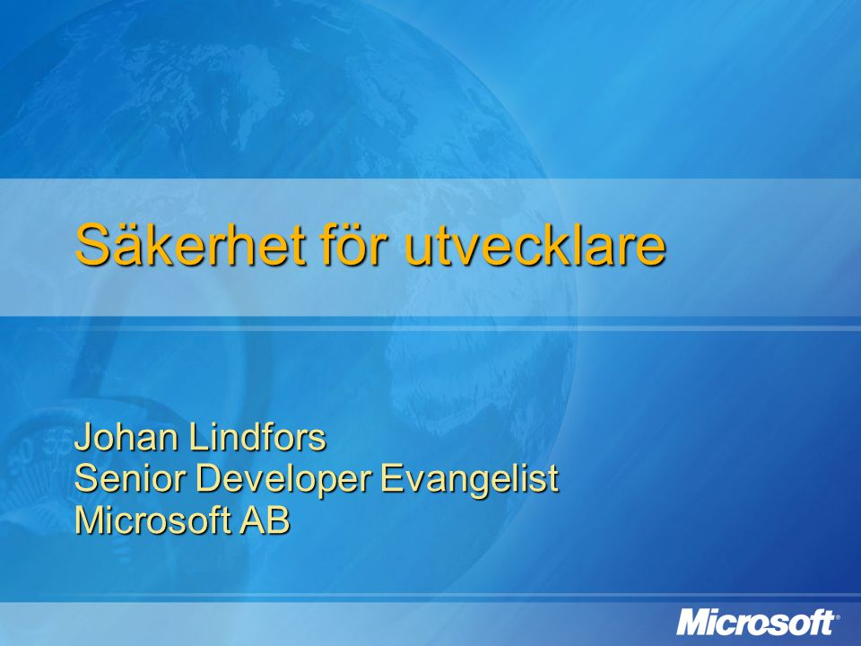Windows CardSpace Identity Provider Användare Relying Party