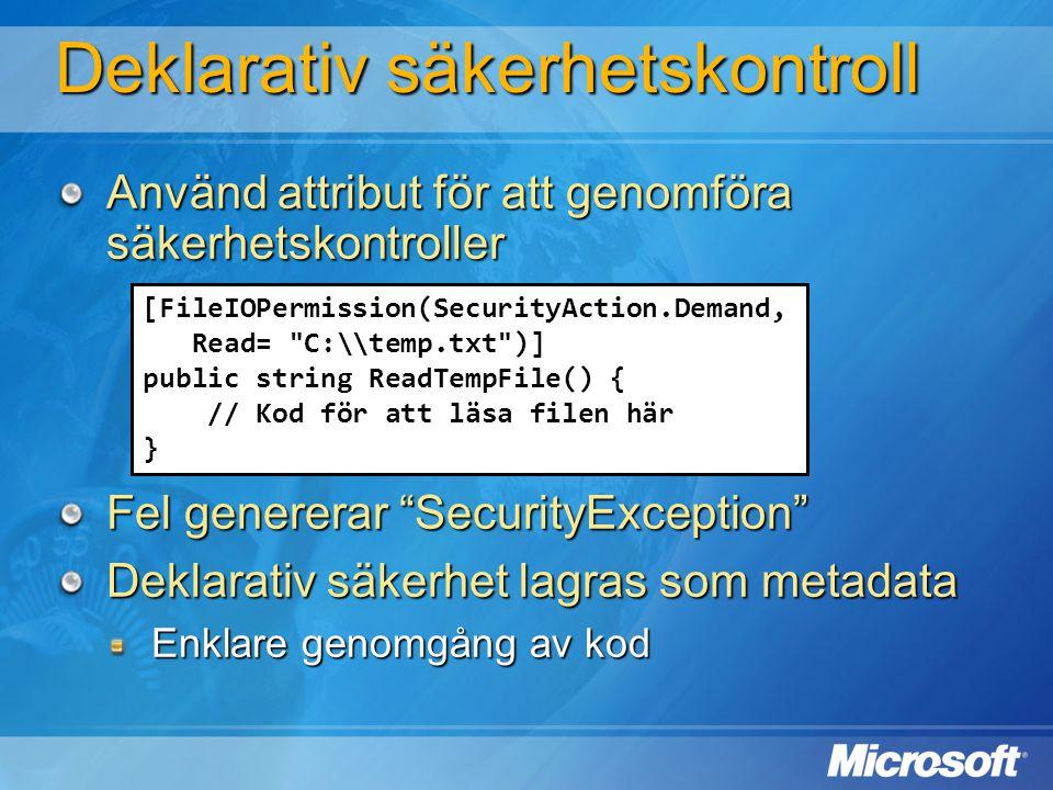 [FileIOPermission(SecurityAction.Demand, Read=