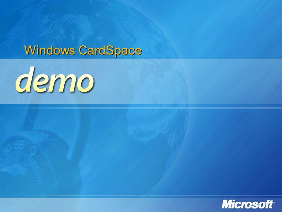 Windows CardSpace