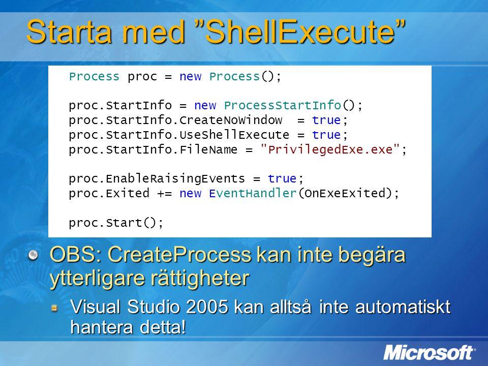 Process proc = new Process(); proc.StartInfo = new ProcessStartInfo(); proc.StartInfo.CreateNoWindow = true; proc.StartInfo.UseShellExecute = true; pr