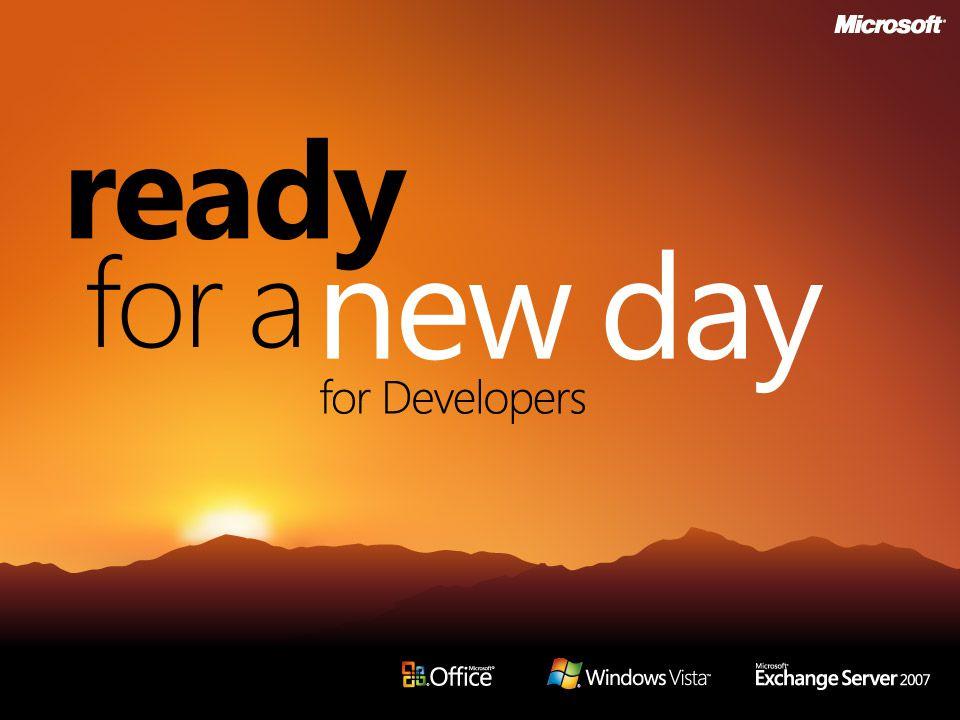 Office 2007 för utvecklare André Henriksson ISV Developer Evangelist Microsoft