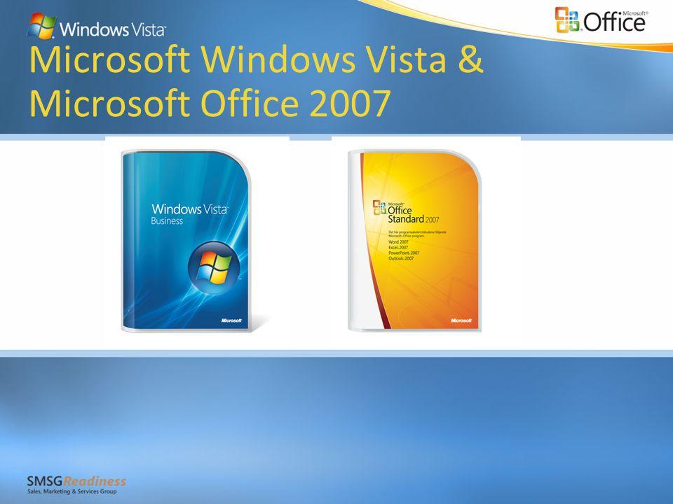 Microsoft Windows Vista & Microsoft Office 2007
