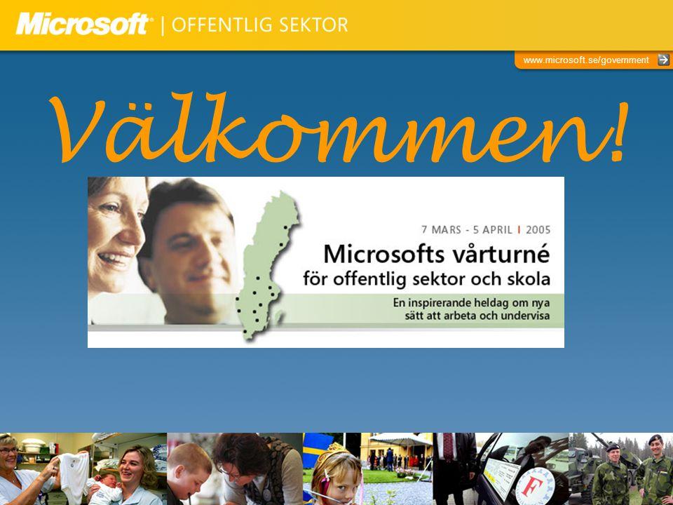 www.microsoft.se/government Studie från Microsoft AB sommaren 2004: Vilka utmaningar ser du för din organisation det närmaste året? Göra mer med mindre dominerar.