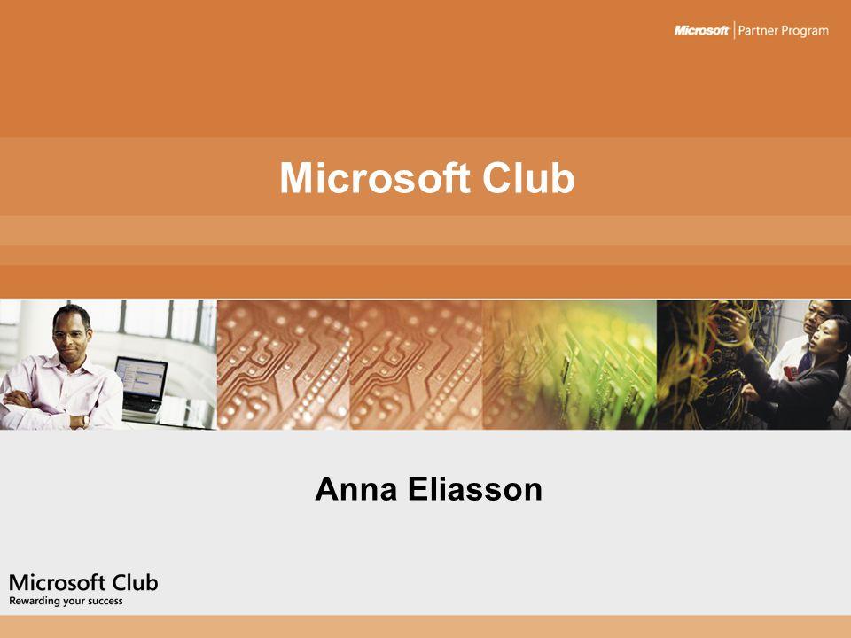 Microsoft Club Anna Eliasson