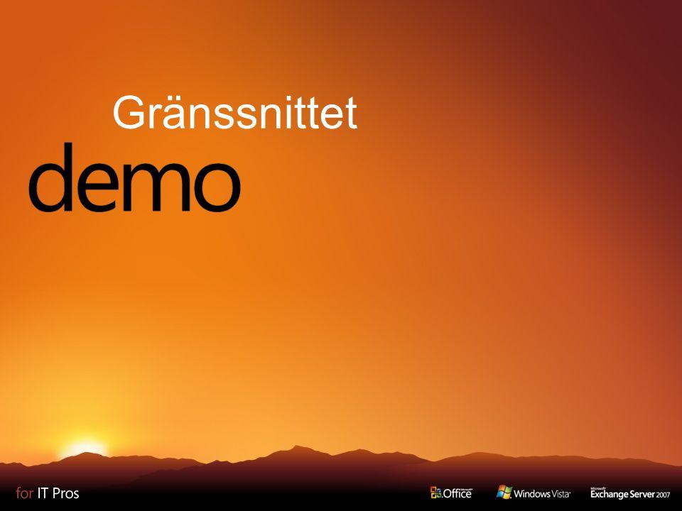 Filformatet Varför ett nytt filformat.
