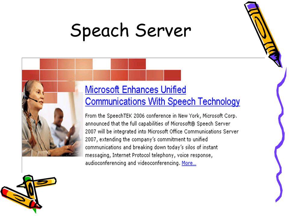 Speach Server