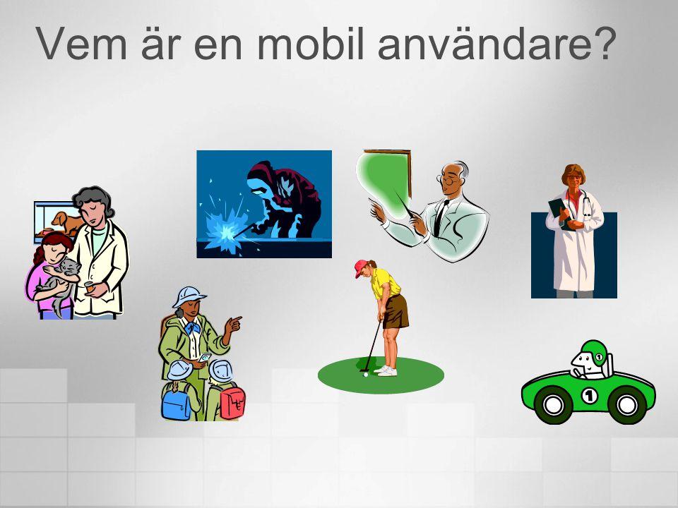 Vem är en mobil användare