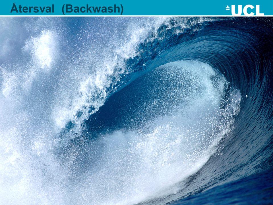 Surf the wave of backwash: assessment for learning