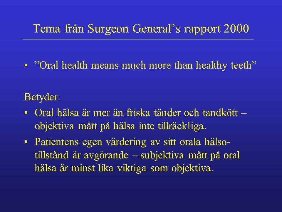 Riskfaktor En faktor associerad med de personer som har en sjukdom, till skillnad från de som är friska.