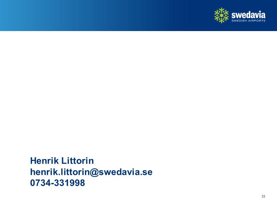 33 Henrik Littorin henrik.littorin@swedavia.se 0734-331998