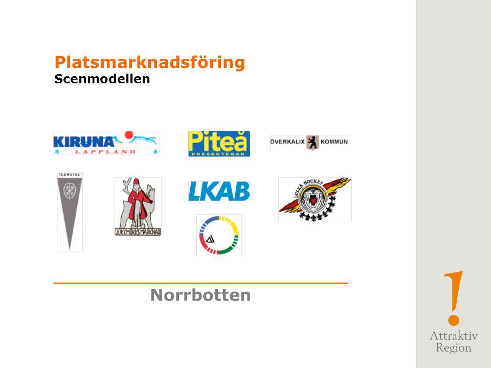 Norrbotten Platsmarknadsföring Scenmodellen