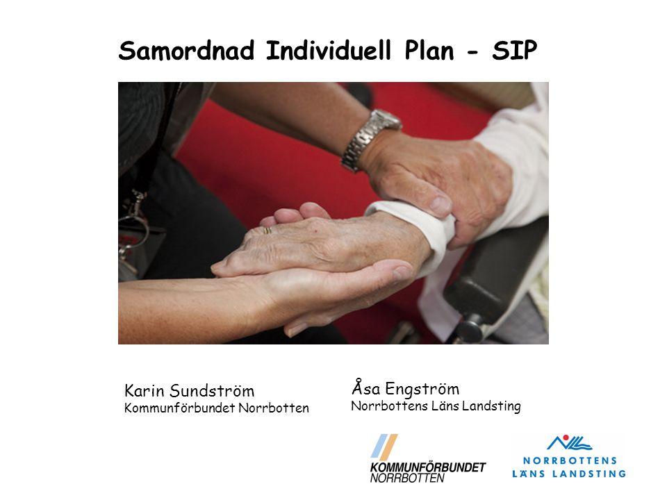  Ändringar i HSL och SoL från 1 januari 2010 innebär att landstinget och kommunerna tillsammans ska upprätta en individuell plan – med helhetsperspektiv, om den behövs för att den enskilde ska få sina behov av hälso- och sjukvård och socialtjänst tillgodosedda.