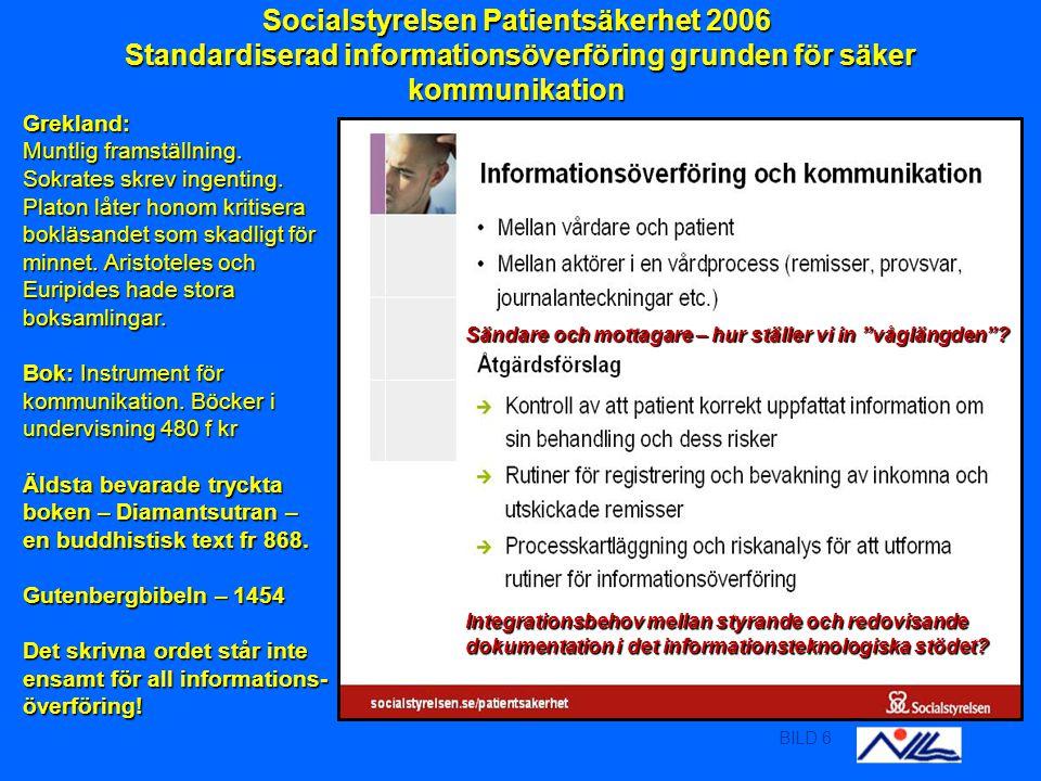 BILD 7 En kvalitetsledningsstandard är en bra guide att ha med på resan Internet: Världsom- spännande nät av datorer som använder gemensamt kommuni- kationsprotokoll.
