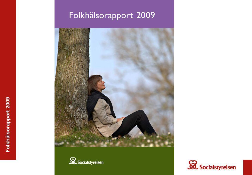 Folkhälsorapport 2009 – Psykosociala påfrestningar Ungdomars psykiska hälsa: Fortsatt försämring.
