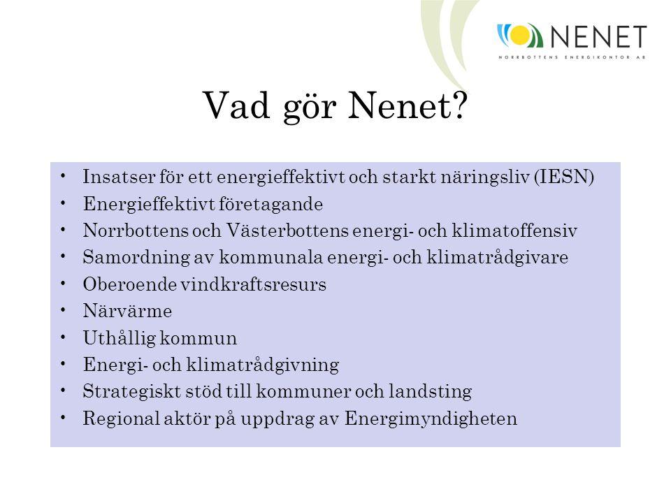Vad gör Nenet.