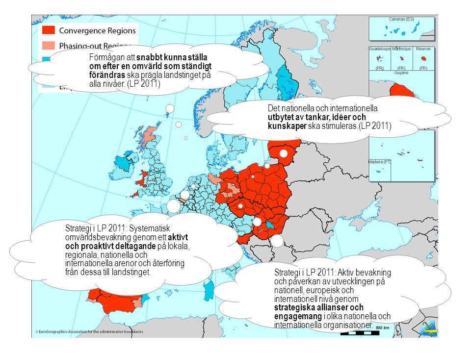 LANDSTINGSDIREKTÖRENS STAB Regional utveckling BILD 2 LS-utbildning 2011-02-10 Förmågan att snabbt kunna ställa om efter en omvärld som ständigt förändras ska prägla landstinget på alla nivåer.