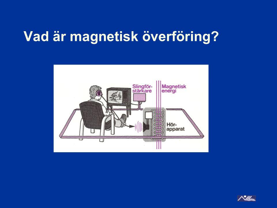 Vad är magnetisk överföring