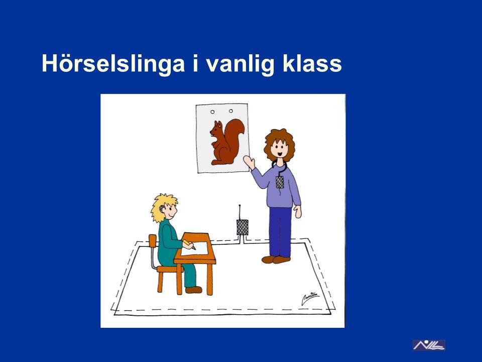 Hörselslinga i vanlig klass
